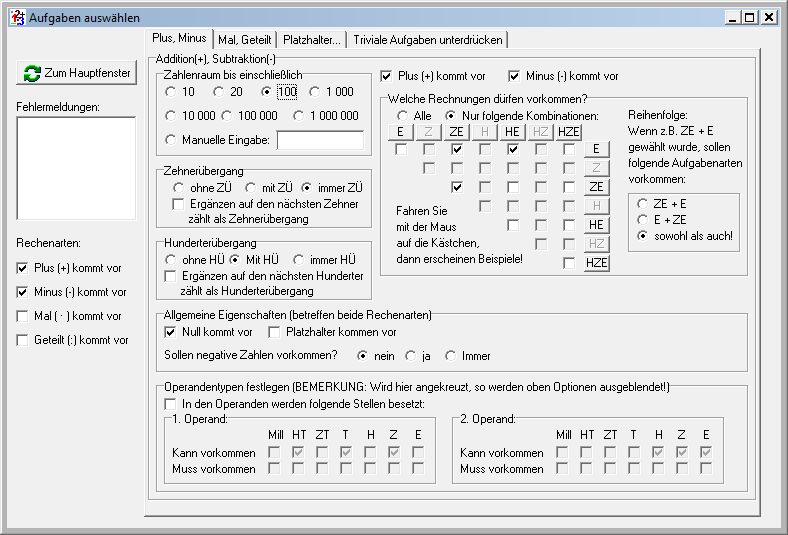 programme:rechenblatt:start - Pabst-Software.de